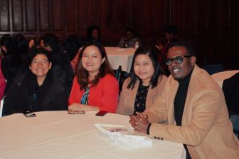 With gorgeous Indonesian scholars... — at The University of Edinburgh.