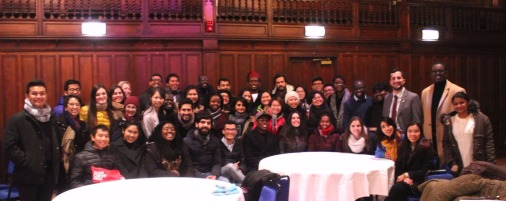 International scholars from all over the UK universities..