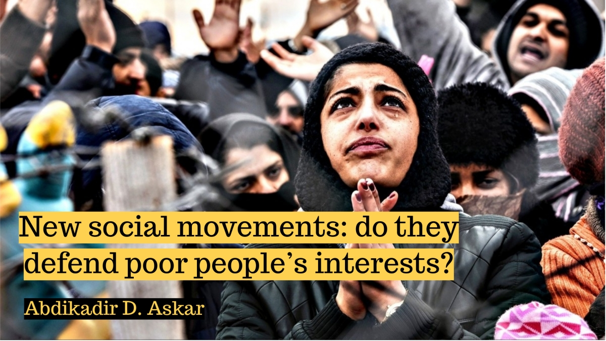 New social movements: do they defend poor people's interests?